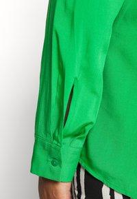 MY TRUE ME TOM TAILOR - LONG SLEEVE WRAP BLOUSE - Bluser - gras green - 5