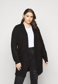 New Look Curves - CARDIGAN - Cardigan - black - 0