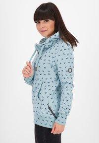 alife & kickin - Zip-up hoodie - light blue - 3