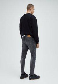 PULL&BEAR - Slim fit jeans - grey - 2