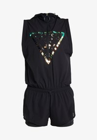 Guess - HOODED ONE PIECE - Gym suit - jet black/frost - 5