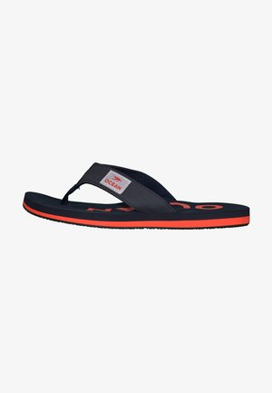 Pool shoes - dunkelblau/rot