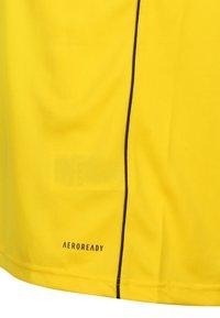adidas Performance - AEROREADY PRIMEGREEN JERSEY SHORT SLEEVE - T-shirt - bas - yellow - 3