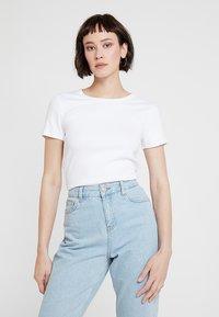 GAP - MOD CREW - T-shirt basic - optic white - 0