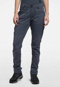 Haglöfs - LITE  FLEX PANT - Outdoor trousers - dense blue - 0