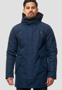 INDICODE JEANS - Winter coat - navy - 3