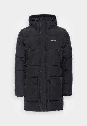 CRINKLE LONG LENGTH - Winter coat - black