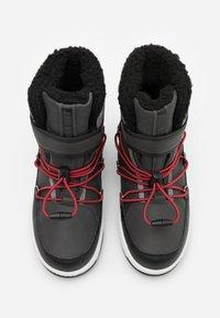 Moon Boot - BOY WP - Zimní obuv - black /castlerock - 3