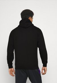 Mitchell & Ness - NBA LA LAKERS ARCH LOGO HOODY - Squadra - black - 2
