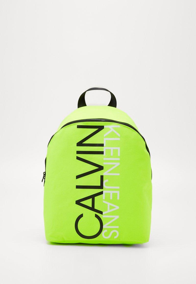 Calvin Klein Jeans - INSTITUTIONAL LOGO BACKPACK - Zaino - yellow