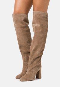 Pura Lopez - High heeled boots - montone - 0