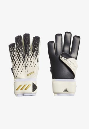 PREDATOR 20 MATCH FINGERSAVE - Goalkeeping gloves - white