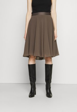 SKIRT - A-Linien-Rock - taupe