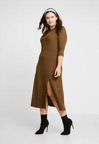 River Island Plus - Day dress - khaki - 2