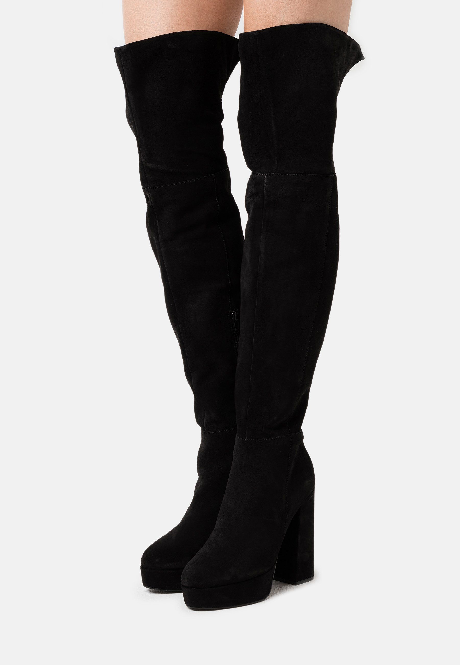 Even&Odd Wide Fit High heeled boots