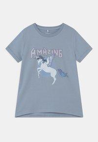 Name it - NKFDINARA  - T-shirts print - blue - 0