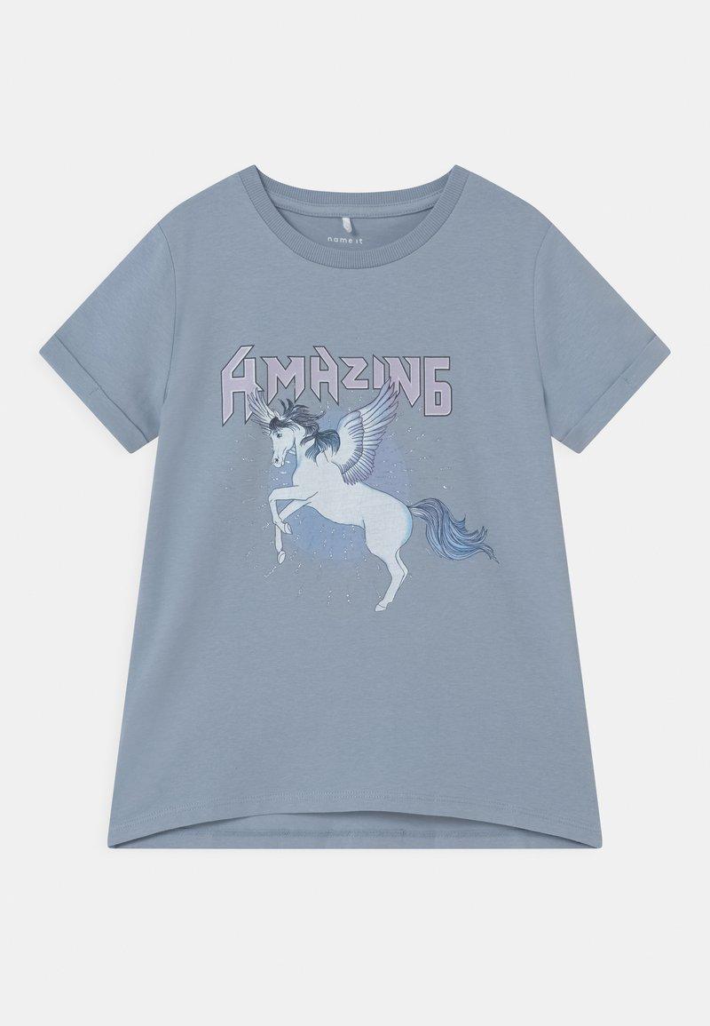 Name it - NKFDINARA  - T-shirts print - blue