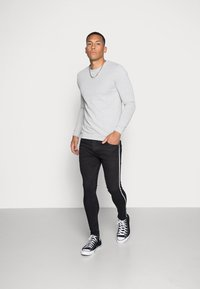 Brave Soul - RONNIE - Jeans Skinny - charcoal - 1