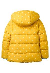 Boden - KUSCHELIGE 2-IN-1-JACKE MIT WATTIERUNG - Winter jacket - honiggelb, geometrisches blumenmuster - 1