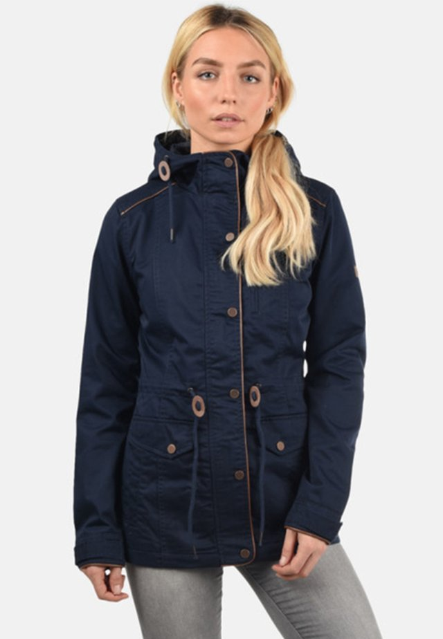 ANJA - Parka - blue/light blue/royal blue