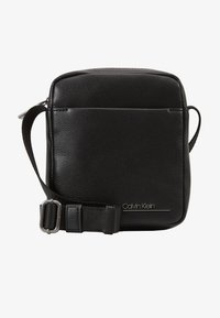 Calvin Klein - MINI REPORTER - Across body bag - black - 1