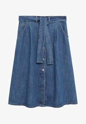 LOLITA - A-line skirt - mellanblå