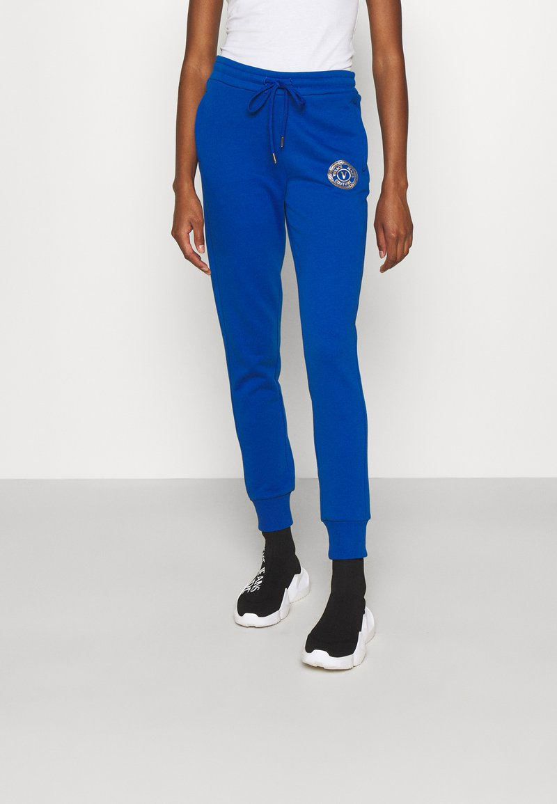 Versace Jeans Couture - PANTS - Tracksuit bottoms - blue