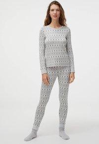 OYSHO - Bas de pyjama - light grey - 1