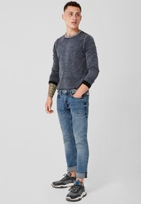 Q/S designed by - RICK SLIM - Slim fit jeans - blue denim stone - 1