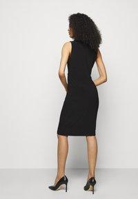 Lauren Ralph Lauren - CLASSIC DRESS - Shift dress - black - 2