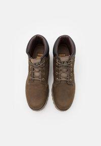 Cat Footwear - FOUNDER WP  - Šněrovací kotníkové boty - gravity grey - 3
