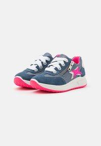 Superfit - MERIDA - Sneakers basse - blau/rosa - 1