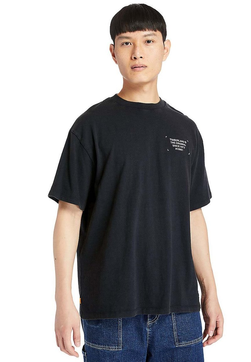 Timberland - WORKWEAR - Print T-shirt - black