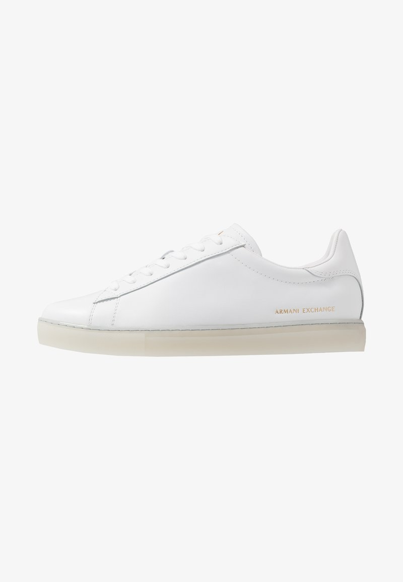 Armani Exchange - CLEAN CUPSOLE - Sneakers - white