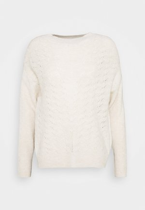 Jumper - cream melange