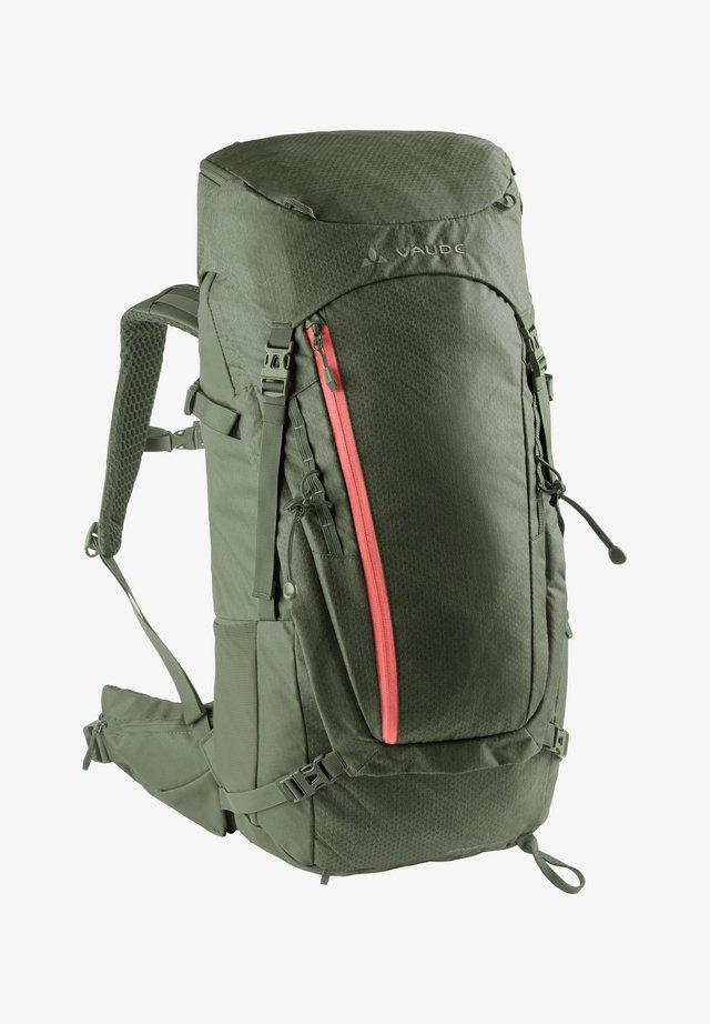ASYMMETRIC 38+8 - Hiking rucksack - olive