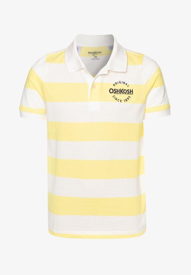 Poloshirts - yellow