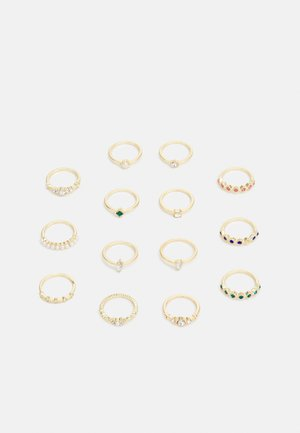 PCDRINKA MEGAPACK 14 PACK - Ring - gold-coloured/multi