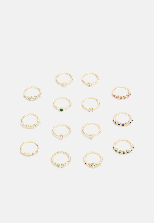 PCDRINKA MEGAPACK 14 PACK - Ring - gold-coloured/multi