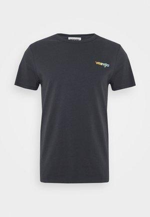 GOOD TIMES TEE - T-shirt med print - blue graphite