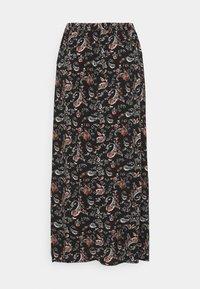 Vero Moda - VMSIMPLY EASY SKIRT - Maxi skirt - black/adda - 6