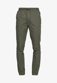 Burton Menswear London - SLIM WASHED - Trainingsbroek - khaki - 4