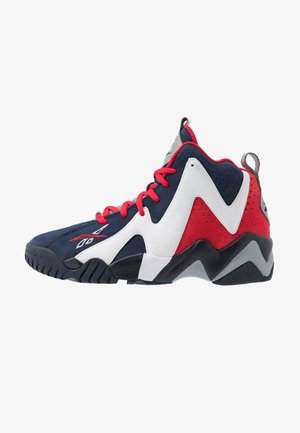 KAMIKAZE II - Korkeavartiset tennarit - vector navy/white/vector red