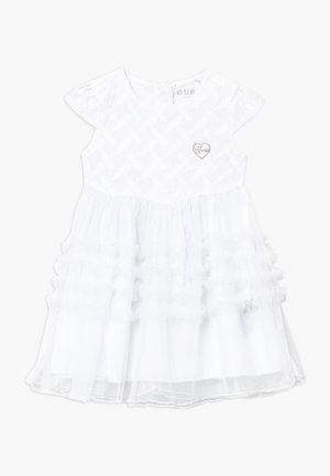 LACE DRESS BABY - Koktejlové šaty / šaty na párty - true white