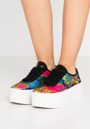 PLATFORM SOLE - Baskets basses - multicolor
