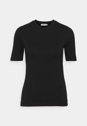 CHAMBERS - Jednoduché triko - black