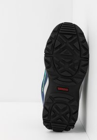 adidas Performance - TERREX HYPERHIKER TRAXION HIKING SHOES - Hiking shoes - glow blue/core black/signal green - 5