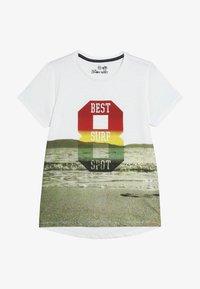Lemon Beret - TEEN BOYS - Print T-shirt - marshmallow - 3