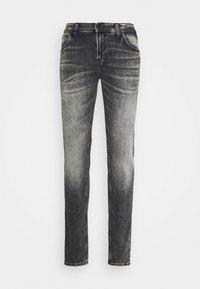 SMARTY - Straight leg jeans - stone grey undamaged wash