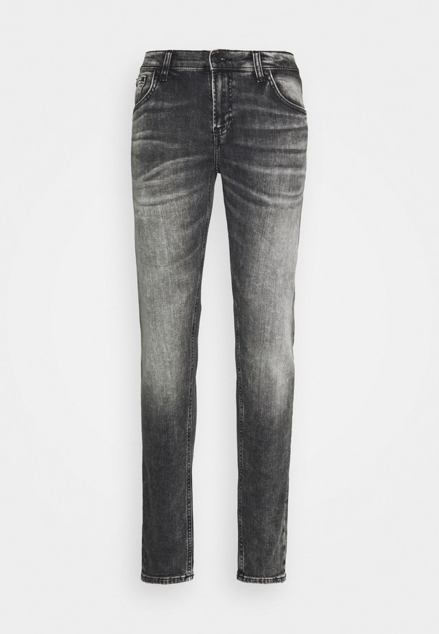 SMARTY - Slim fit jeans - stone grey undamaged wash
